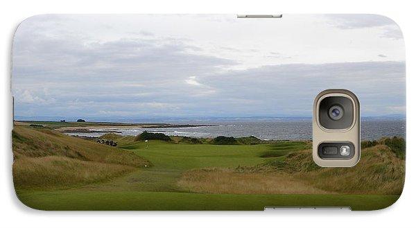 Galaxy Case featuring the photograph Royal Aberdeen Scotland Golf by Jan Daniels