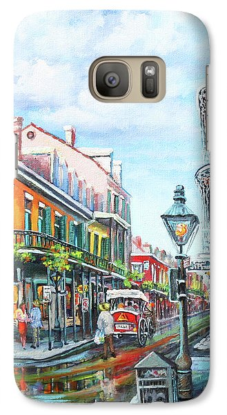 Galaxy Case featuring the painting Royal Balconies by Dianne Parks