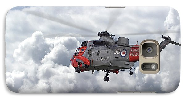 Galaxy Case featuring the photograph Royal Navy - Sea King by Pat Speirs
