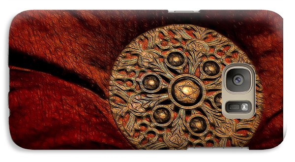 Galaxy Case featuring the photograph Royalty by Steven Richardson