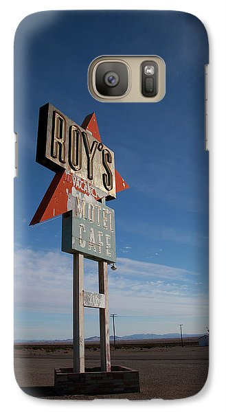 Galaxy Case featuring the photograph Roys In Amboy by Matthew Bamberg