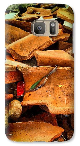 Galaxy Case featuring the photograph Rubbish by Beto Machado