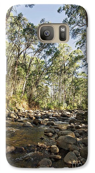 Galaxy Case featuring the photograph Rubicon River by Linda Lees