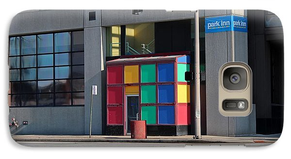 Galaxy Case featuring the photograph Rubik Shelter by Michiale Schneider