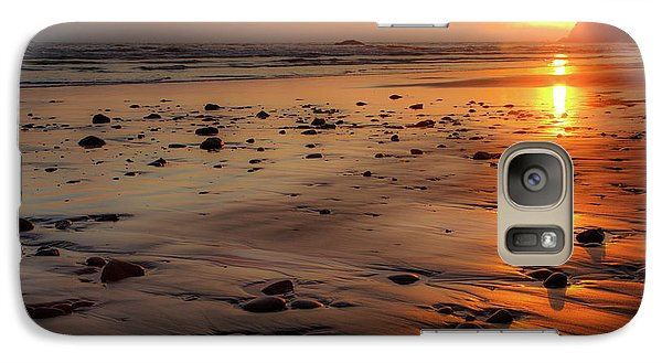 Ruby Beach Sunset Galaxy S7 Case