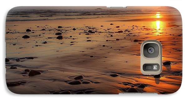 Galaxy Case featuring the photograph Ruby Beach Sunset by David Chandler