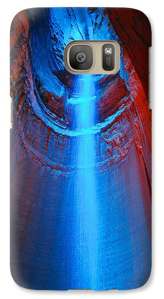 Ruby Falls Waterfall 3 Galaxy S7 Case
