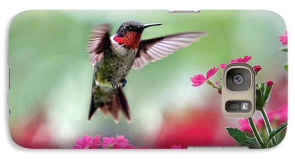 Ruby Garden Jewel Galaxy Case by Christina Rollo