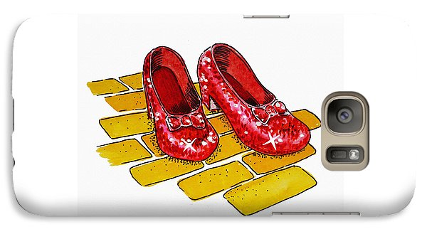 Ruby Slippers The Wizard Of Oz  Galaxy Case by Irina Sztukowski