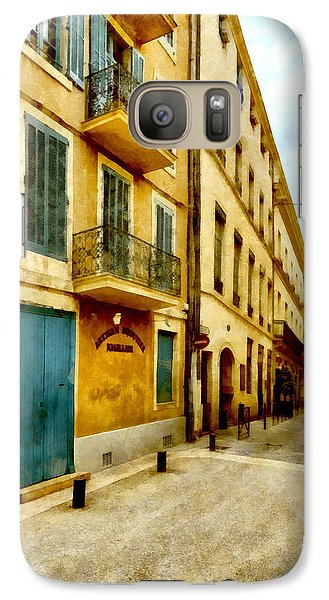 Galaxy Case featuring the photograph Rue De La Violette by Scott Carruthers