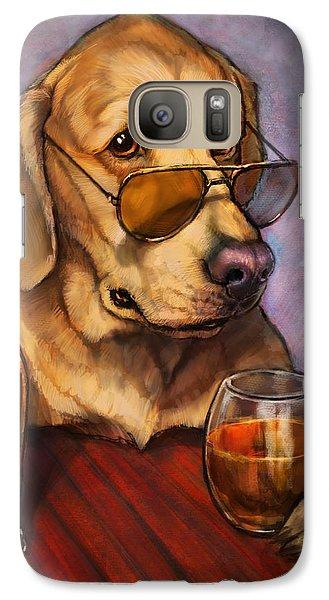 Beer Galaxy S7 Case - Ruff Whiskey by Sean ODaniels