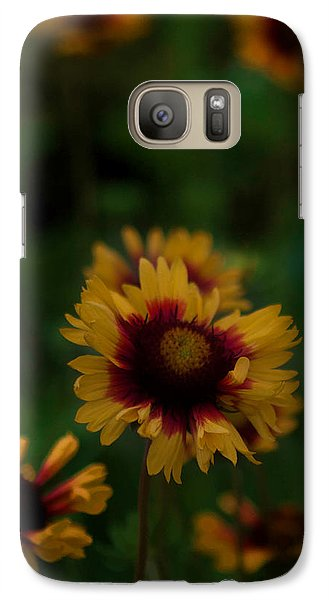 Galaxy Case featuring the photograph Ruffled Up by Cherie Duran