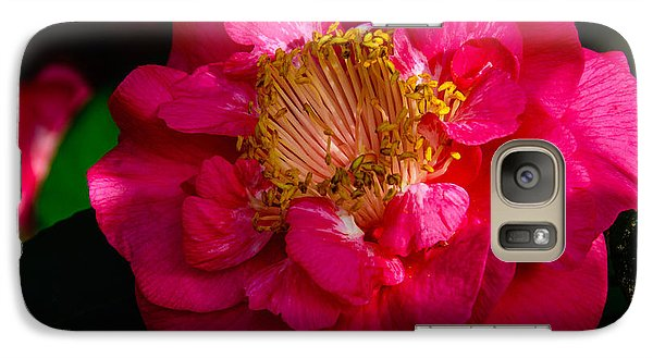Galaxy Case featuring the photograph Ruffles Of Pink  by John Harding