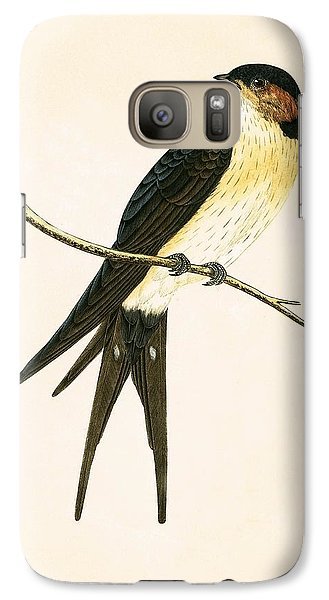 Rufous Swallow Galaxy S7 Case