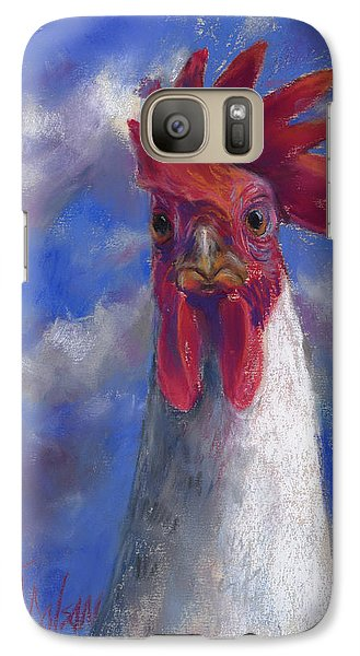 Galaxy Case featuring the pastel Ruler Of The Roost by Billie Colson