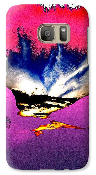 Galaxy Case featuring the photograph Running Man by Lola Connelly