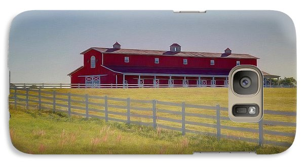 Galaxy Case featuring the photograph Rural Alabama by Donna Kennedy
