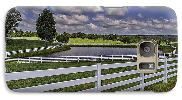 Galaxy Case featuring the photograph Rural Kentucky Landscape by Wendell Thompson
