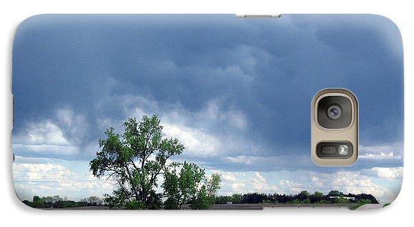 Galaxy Case featuring the photograph Rural Nebraska by Tyler Robbins