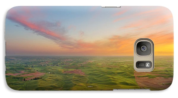 Galaxy Case featuring the photograph Rural Setting by Ryan Manuel