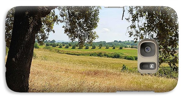 Galaxy Case featuring the photograph Rural Tuscany by Valentino Visentini