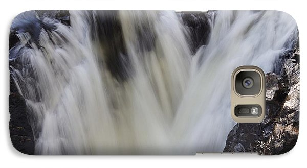 Galaxy Case featuring the photograph Rushing by Aimelle