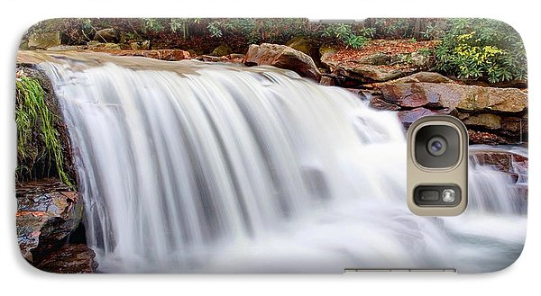 Galaxy Case featuring the photograph Rushing Waters Of Decker Creek by Gene Walls