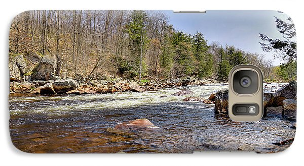 Galaxy Case featuring the photograph Rushing Waters Of The Moose River by David Patterson