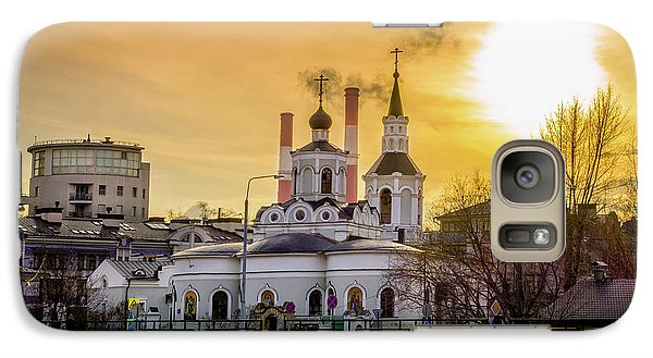 Galaxy Case featuring the photograph Russian Ortodox Church In Moscow, Russia by Alexey Stiop