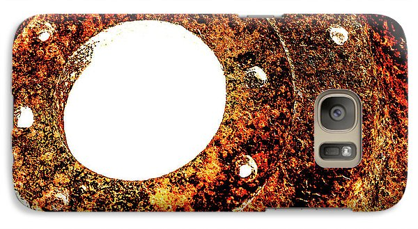 Galaxy Case featuring the photograph Rust In Infrared by Onyonet  Photo Studios
