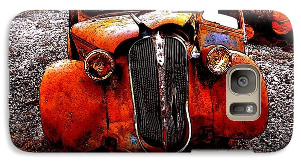 Galaxy Case featuring the photograph Rust In Peace by Sadie Reneau