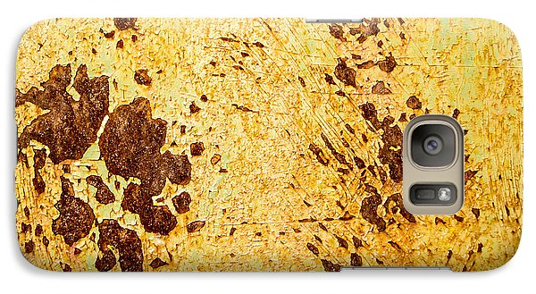 Galaxy Case featuring the photograph Rust Metal by John Williams