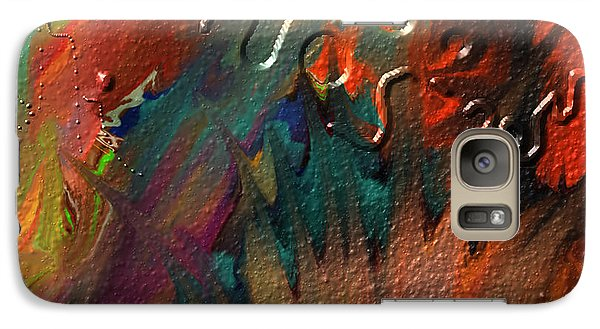 Galaxy Case featuring the painting Rust Never Sleeps by Kevin Caudill