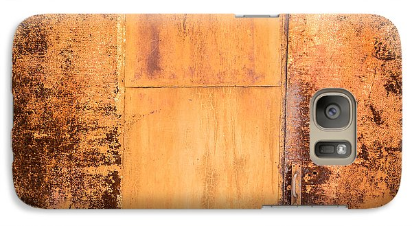 Galaxy Case featuring the photograph Rust On Metal Texture by John Williams