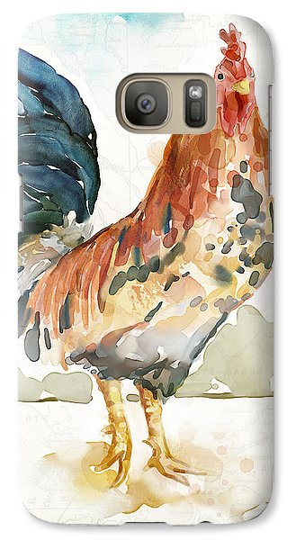 Rust Rooster Galaxy S7 Case