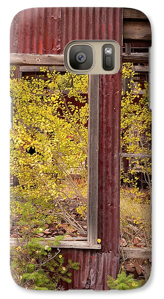 Galaxy Case featuring the photograph Rustic Autumn by Leland D Howard