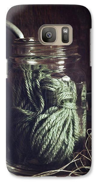 Galaxy Case featuring the photograph Rustic Green by Amy Weiss