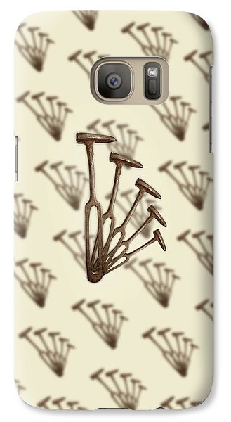 Galaxy Case featuring the photograph Rustic Hammer Pattern by YoPedro