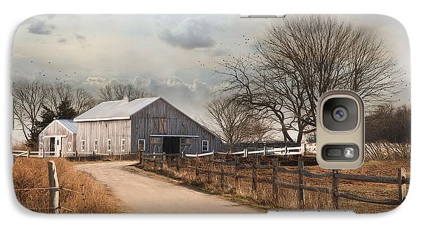 Galaxy Case featuring the photograph Rustic Lane by Robin-Lee Vieira