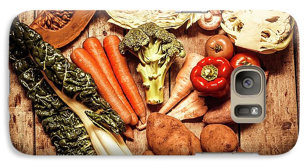 Rustic Style Country Vegetables Galaxy Case by Jorgo Photography - Wall Art Gallery