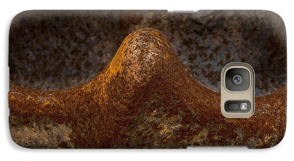 Galaxy Case featuring the photograph Rustwave by WB Johnston