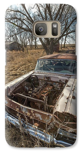 Galaxy Case featuring the photograph Rusty by Aaron J Groen