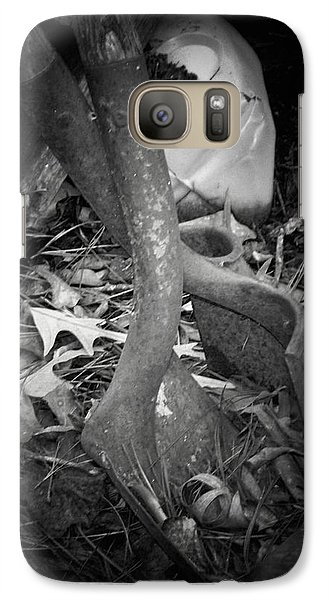 Galaxy Case featuring the photograph Rusty Embrace by Betty Northcutt