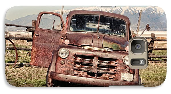 Galaxy Case featuring the photograph Rusty Old Dodge by Ely Arsha