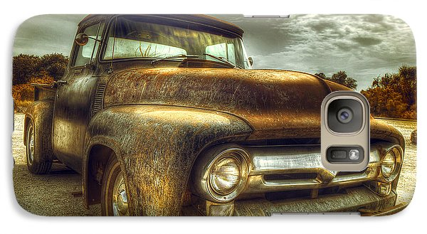 Truck Galaxy S7 Case - Rusty Truck by Mal Bray