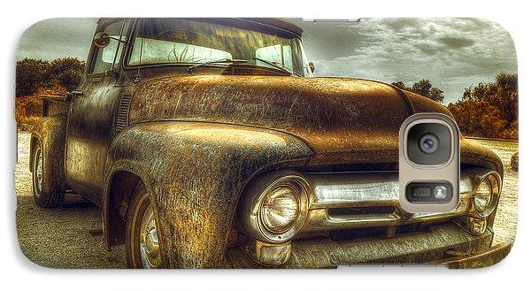 Rusty Truck Galaxy Case by Mal Bray