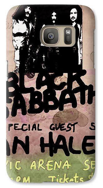 Def Leppard Galaxy S7 Case - Sabbath Tour Pittsburgh Pa 1978  by Enki Art