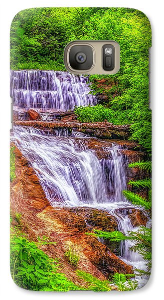 Galaxy Case featuring the photograph Sable Falls by Nick Zelinsky