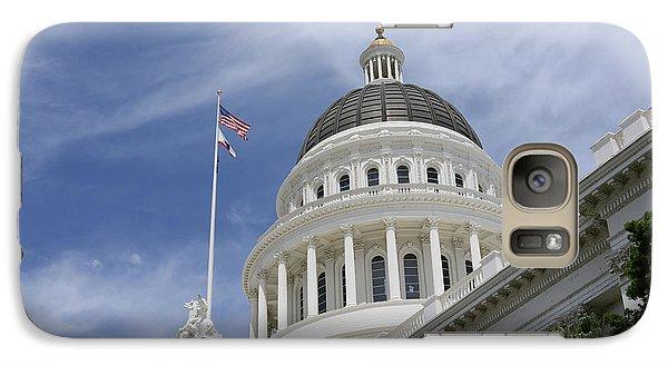 Sacramento Capitol Building Galaxy S7 Case