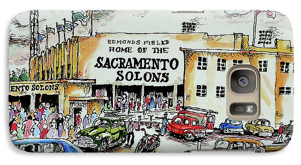 Galaxy Case featuring the painting Sacramento Solons by Terry Banderas